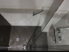 Ducha de obra impermeabilización completa suelo baño