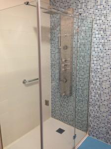 Plato de ducha adaptado